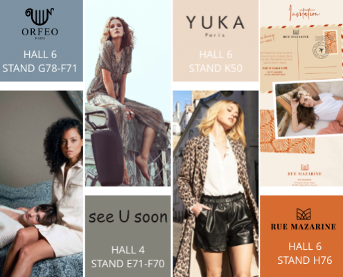 Les marques représentées au Who's Next 2020 par ShowroomABC
